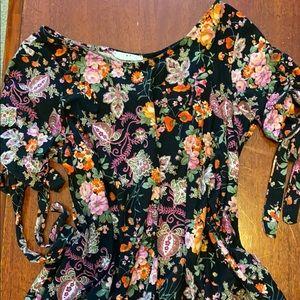 Amelia James tunic- floral print